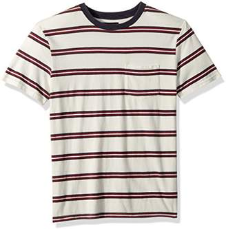 Brixton Men's HILT Tailored FIT Washed Short Sleeve Pocket Knit TEE