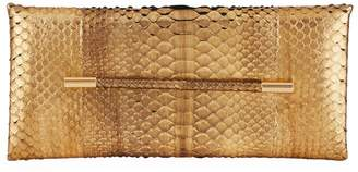 Tom Ford Eve Bar Python Clutch