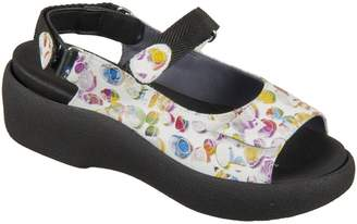 Wolky Womens Jewel Leather Sandals