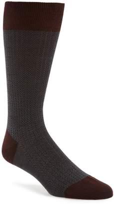 Pantherella '5911' Mid-Calf Dress Socks