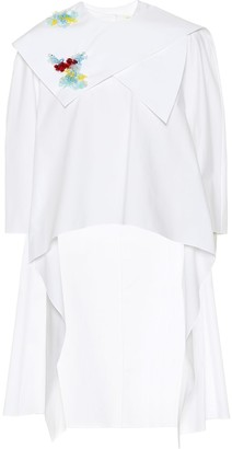 DELPOZO Embellished cotton top