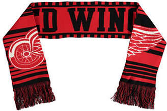 Reebok Detroit Red Wings Youth Fan Jacquard Scarf