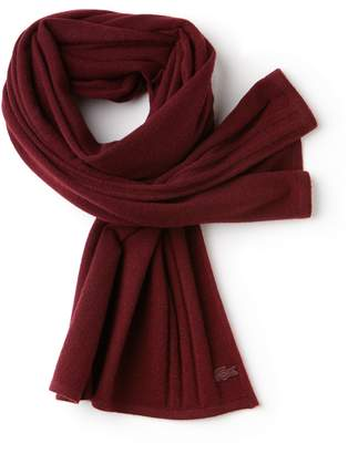 Lacoste Women's Cashmere Jersey Scarf