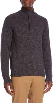 Weatherproof Vintage Hidden Quarter-Zip Sweater