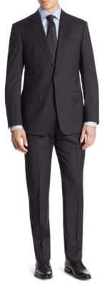Giorgio Armani Tonal Stripe Virgin Wool Suit