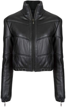 Andrea Bogosian quilted leather jacket