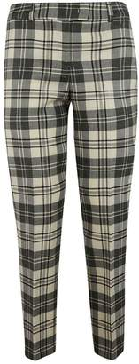 Ermanno Scervino Checked Cropped Trousers