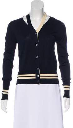 Sophie Theallet Knit Button-Up Cardigan