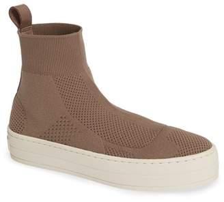J\u002FSlides Hero Sock High Top Sneaker (Women)
