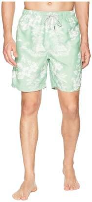 True Grit Waterman Outrigger Drawstring Swim Boardshorts w/ Mesh Lining Men's Swimwear