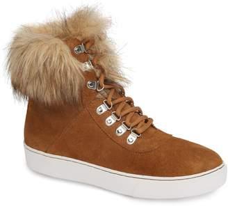 Linea Paolo Gigi Faux Fur Sneaker