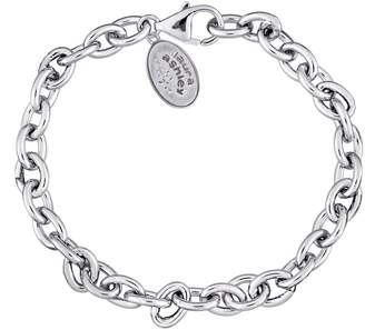 "Laura Ashley Jewelry Sterling Silver 7-1/4"" Rolo Bracelet"