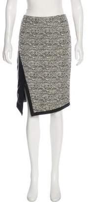 Marissa Webb Tweed Knee-Length Skirt