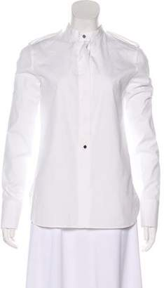 Belstaff Stand Collar Button-Up Top