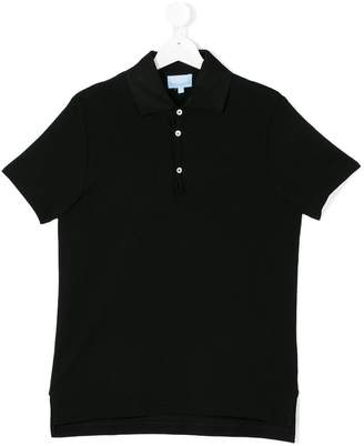 Lanvin Enfant short sleeve polo shirt