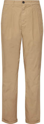 Barena Slim-Fit Tapered Stretch-Cotton Twill Trousers