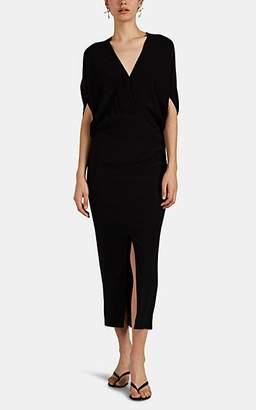 Zero Maria Cornejo Women's Aki Silk Charmeuse Dress - Black
