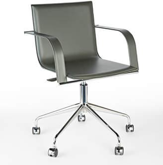 Rejuvenation Cartwright Italian Leather Desk Chair