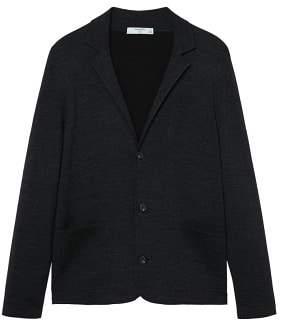 Mango man MANGO MAN Pocket wool-blend cardigan