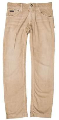 Dolce & Gabbana Bootcut Corduroy Pants w/ Tags