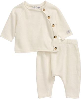 Petit Bateau Long-Sleeve Top & Pants Set