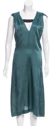 Dries Van Noten Draped Midi Dress