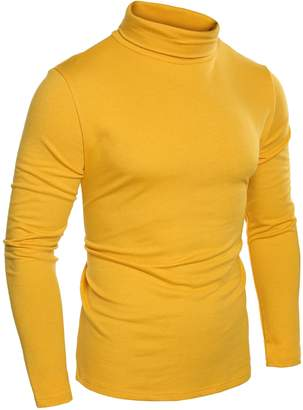 COOFANDY Mens Casual Basic Thermal Turtleneck Slim Fit Pullover Thermal Sweaters