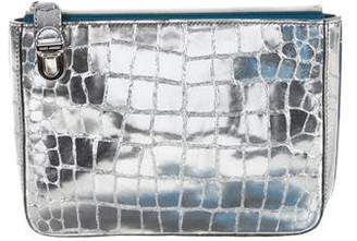 Marc Jacobs Embossed Metallic Pouch