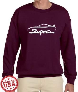 Supra Maddmax Car Art Toyota Exotic Car Classic Outline Design Sweatshirt