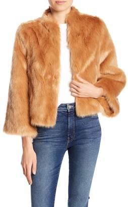 Mother Faux Fur Swing Jacket