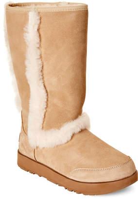 bef85007fba Fur Trim Ugg Boots - ShopStyle
