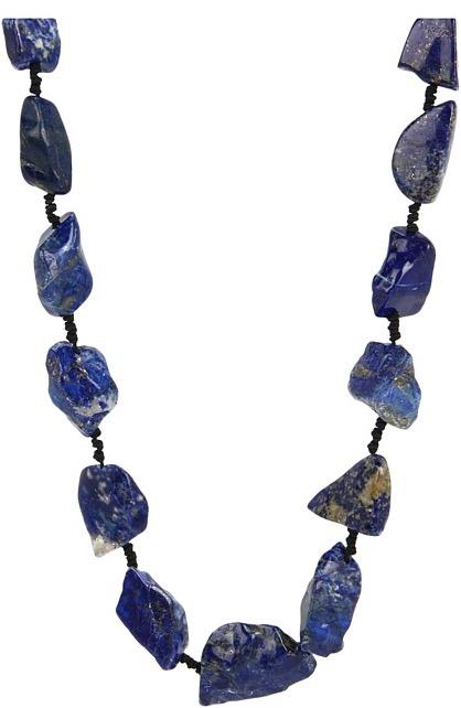 Chan Luu Lapis Long Necklace (Lapis) - Jewelry