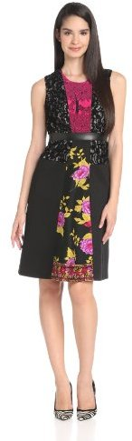 Tracy Reese Women's Spliced Frock Dress
