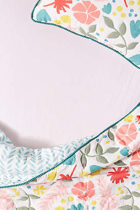 Anthropologie Cotton Jersey Crib Sheet