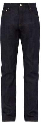 Officine Generale Kurt Straight Leg Jeans - Mens - Blue