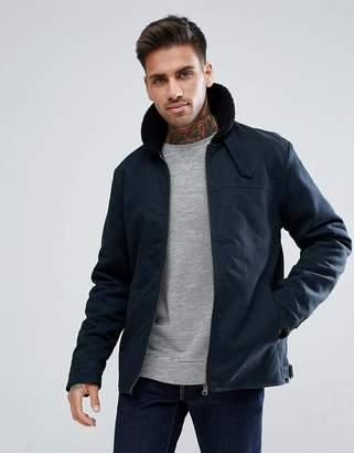 Ringspun Fleece Collar Flight Jacket