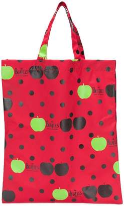Comme des Garcons The Beatles X x The Beatles printed tote