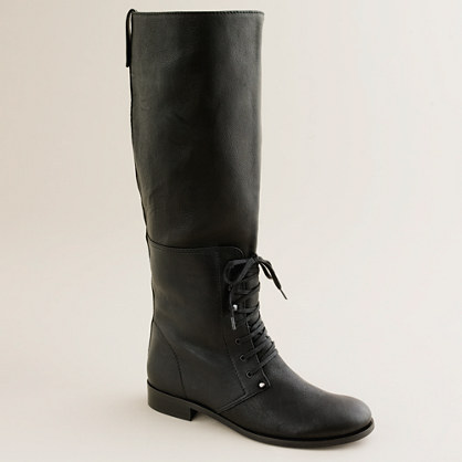 J.Crew Owen tall boots with extended calf