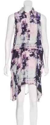 Marissa Webb Printed Silk Dress