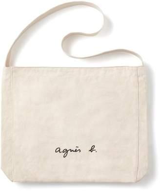 agnès b. (アニエス ベー) - agnes b. Voyage 【WEB限定】GO03‐03 ロゴショルダーバッグ