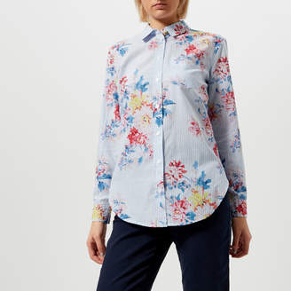 Joules Women's Laurel Cotton Longline Shirt