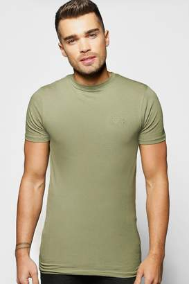 boohoo Short Sleeve MAN Muscle Fit T-Shirt