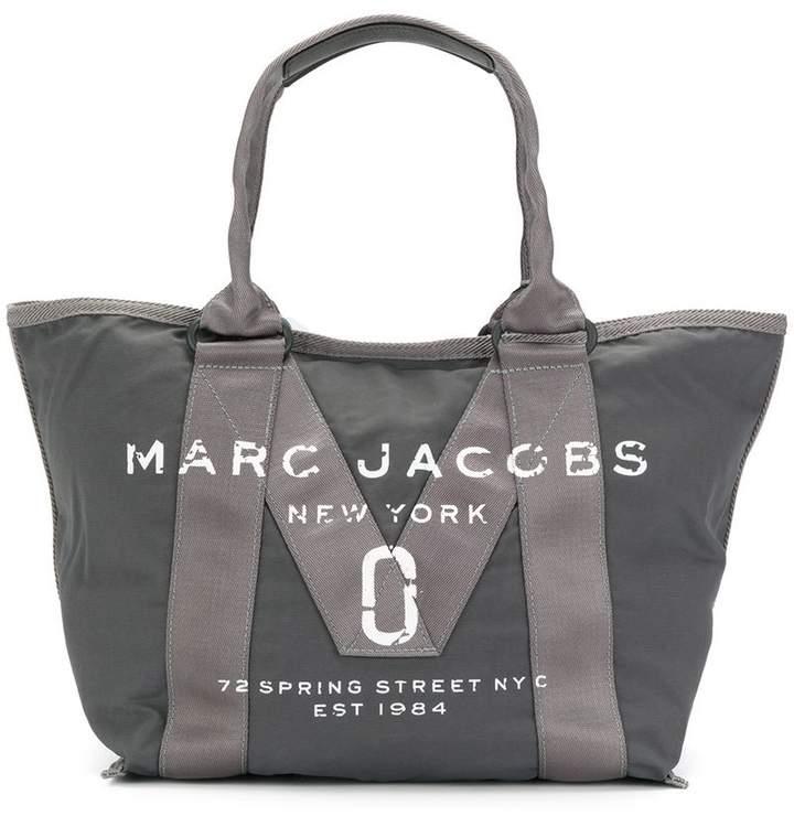 Marc Jacobs logo tote bag