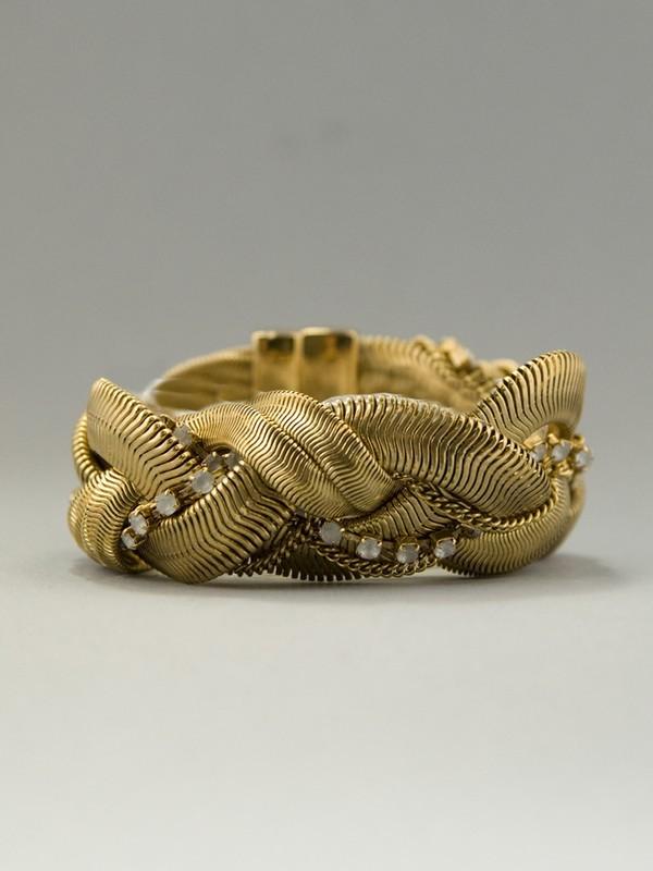 Rachel Leigh Crystal Snake Chain Bracelet