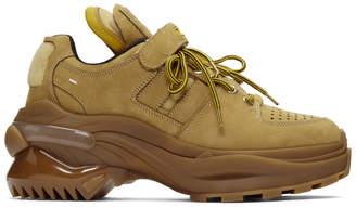 Maison Margiela Tan Union Retro Sneakers