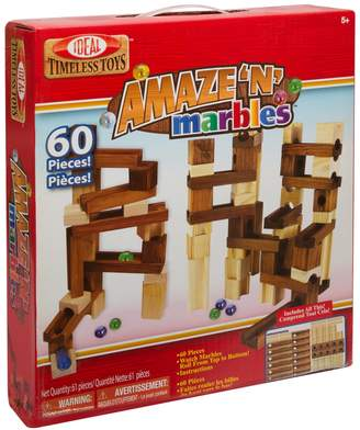 N. Ideal Amaze 'N' Marbles 60-pc. Construction Set
