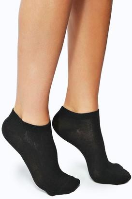 boohoo Trainer Socks 3 Pack
