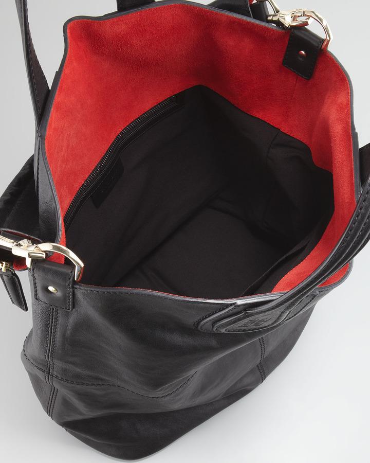 Givenchy Nightingale North-South Zanzi Tote Bag, Black