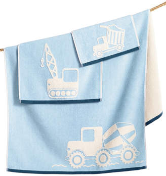 Kassatex Kids' Kassa Construction Bath Towel Bedding