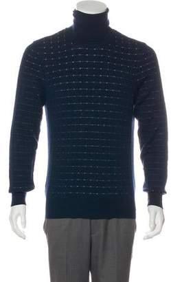 Maison Margiela Wool Striped Turtleneck Sweater